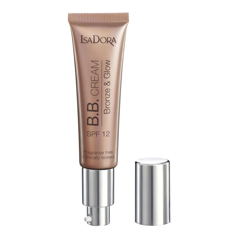 Isadora Bronze & Glow BB Cream 30 Light Bronze SPF12