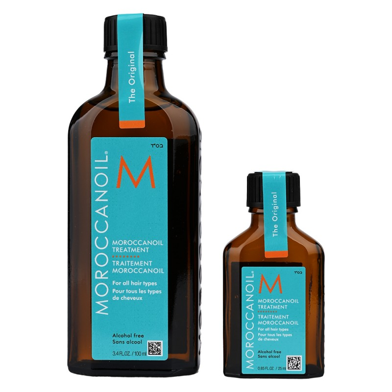 Moroccanoil Cylinderbox Original Treatment Duo