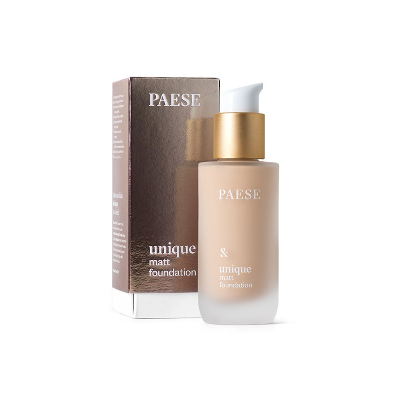 Paese Unique Matt Foundation 602N Light Beige