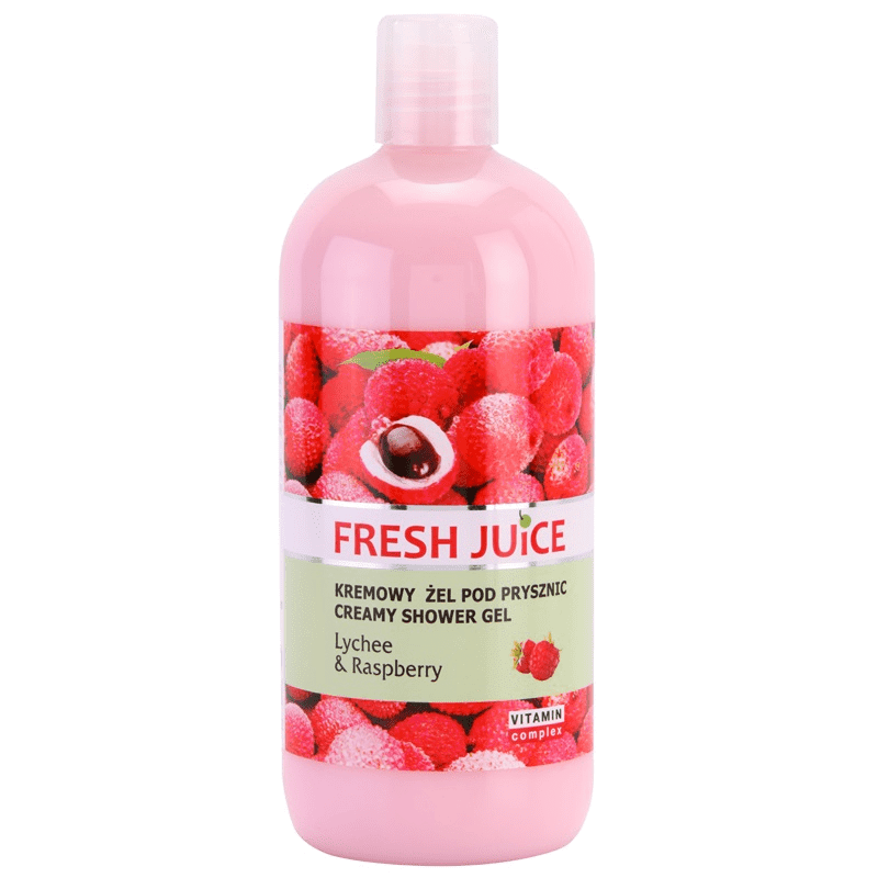 Fresh Juice Lychee & Raspberry Shower Gel