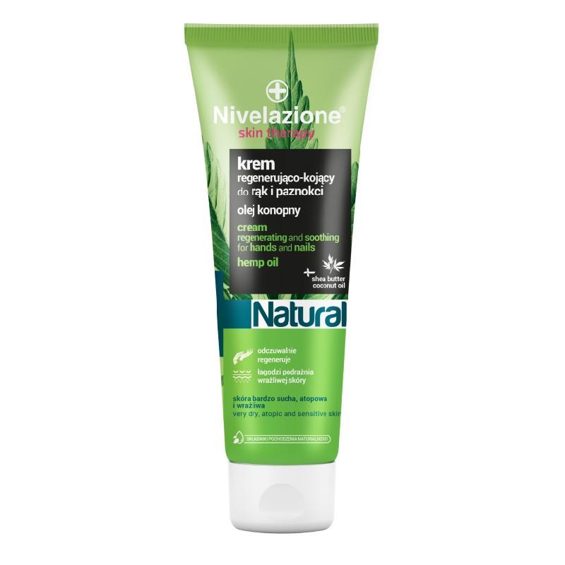 Nivelazione Hemp Oil Regenerating Hand Cream