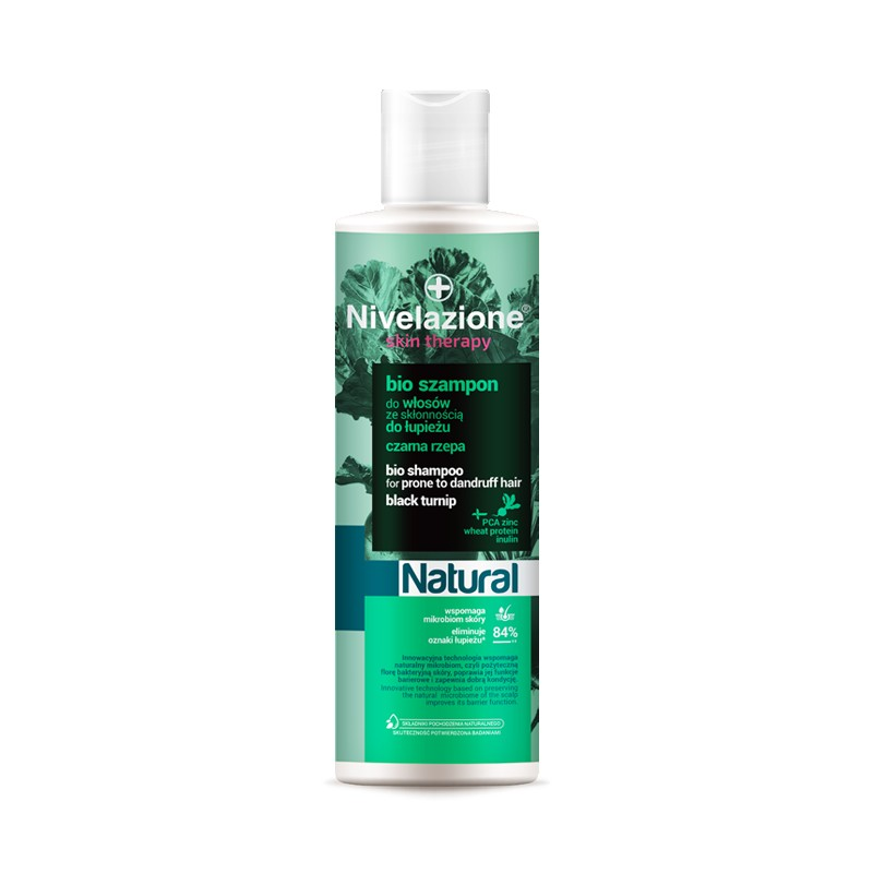 Nivelazione Natural Bio Black Turnip Shampoo Prone To Dandruff Hair