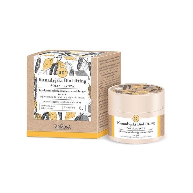 Farmona Canadian Biolifting 40+ Yellow Birch Rejuvenating Night Cream