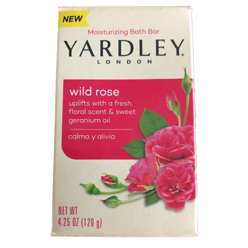 Yardley London Bar Soap Wild Rose