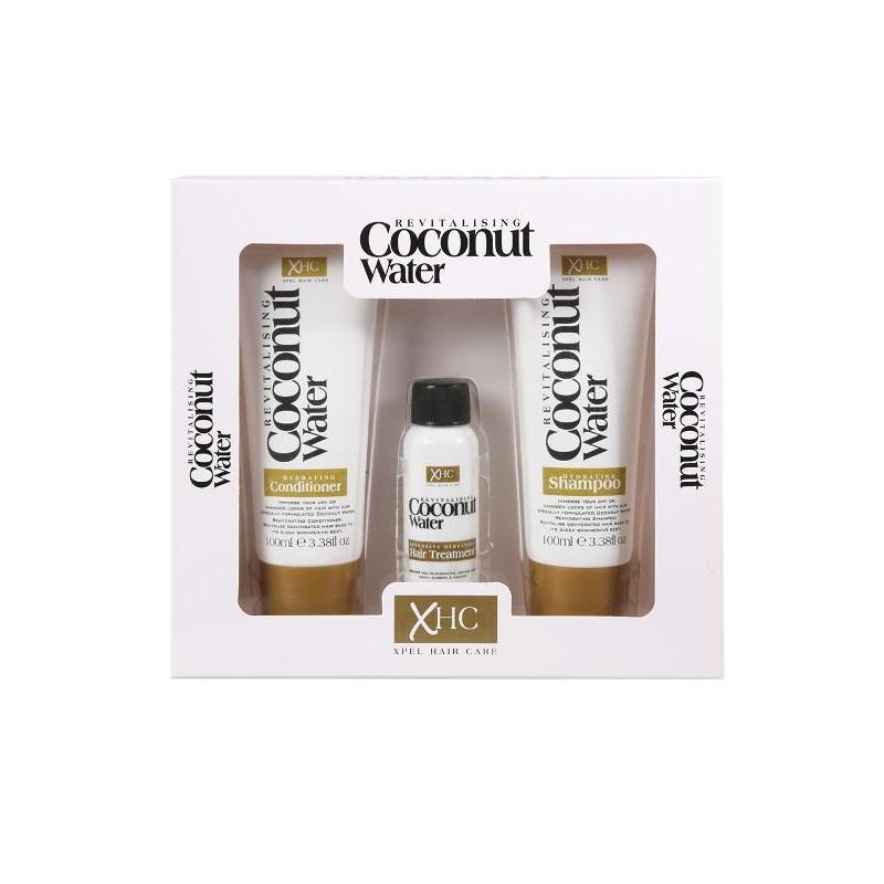 Revitalising Coconut Water Haircare Box Set