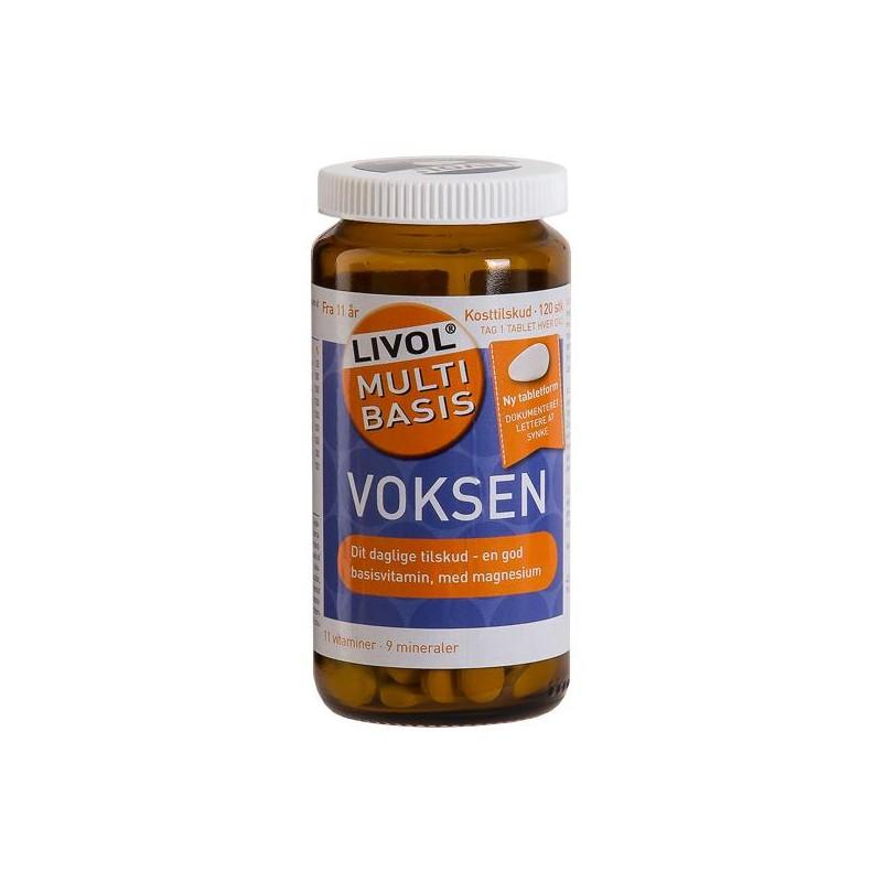 Livol Multi Basis Voksen med Magnesium