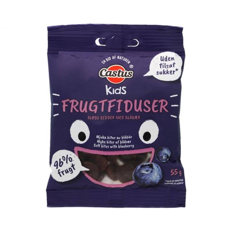 Castus Kids Frugtfiduser Blåbær