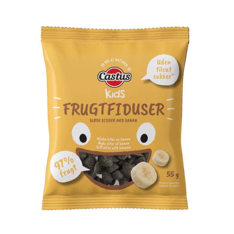 Castus Kids Frugtfiduser Banan
