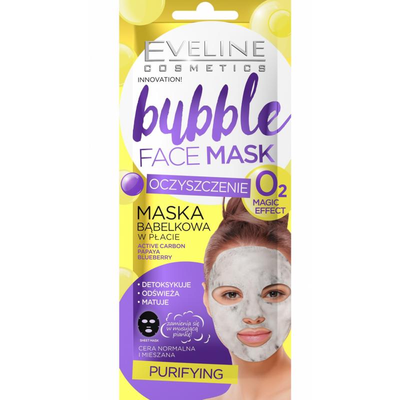 Eveline Bubble Face Sheet Mask Purifying