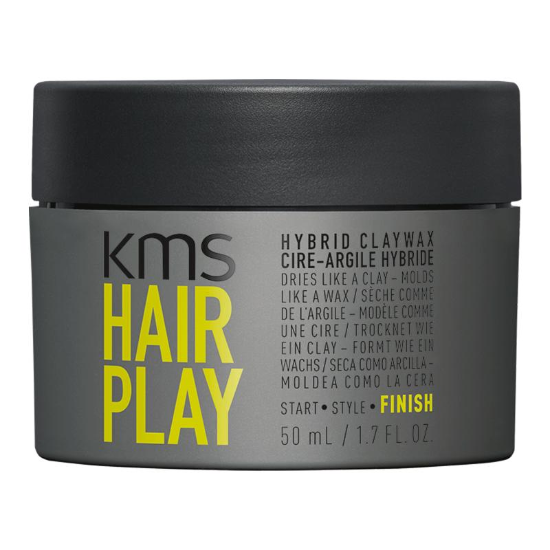 KMS California Hair Play Hybrid Clay Wax
