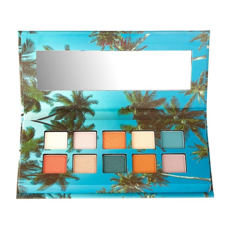 Barry M. Matte & Metallic Eyeshadow Palette Island Hopper