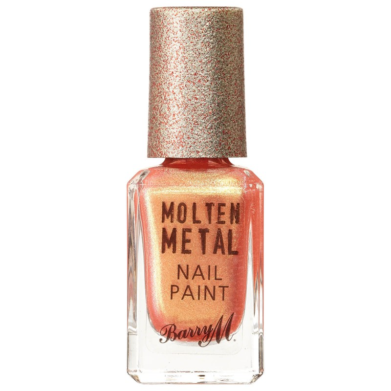Barry M. Molten Metal Nail Paint 21 Peachy Feels
