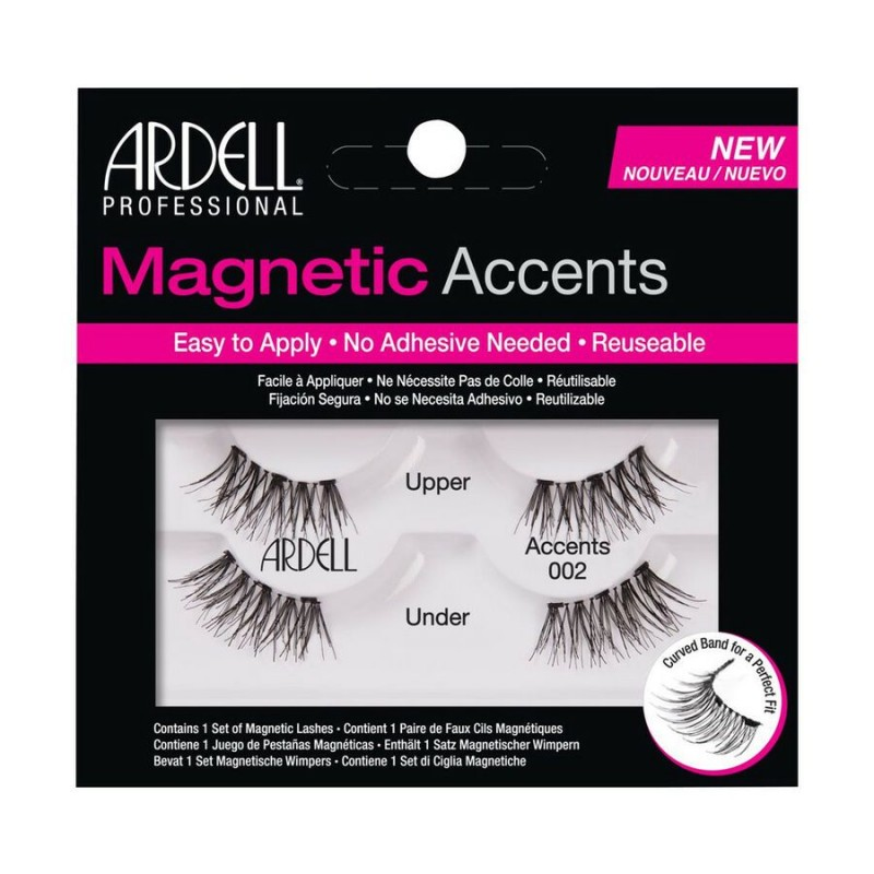 Ardell Magnetic Accents Lashes 002 Black