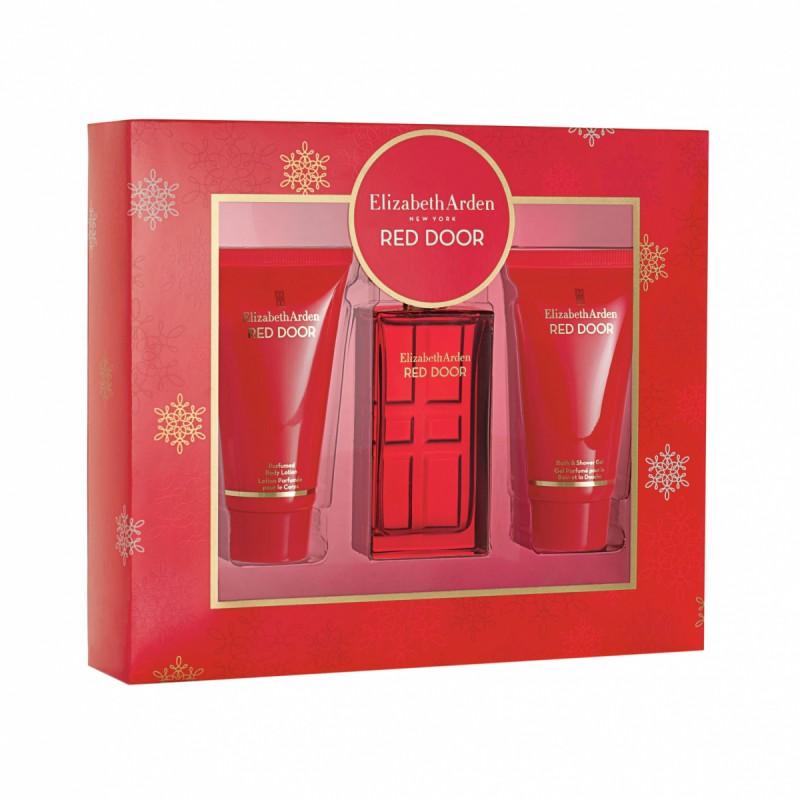 Elizabeth Arden Red Door EDT & Body Lotion & Shower Gel