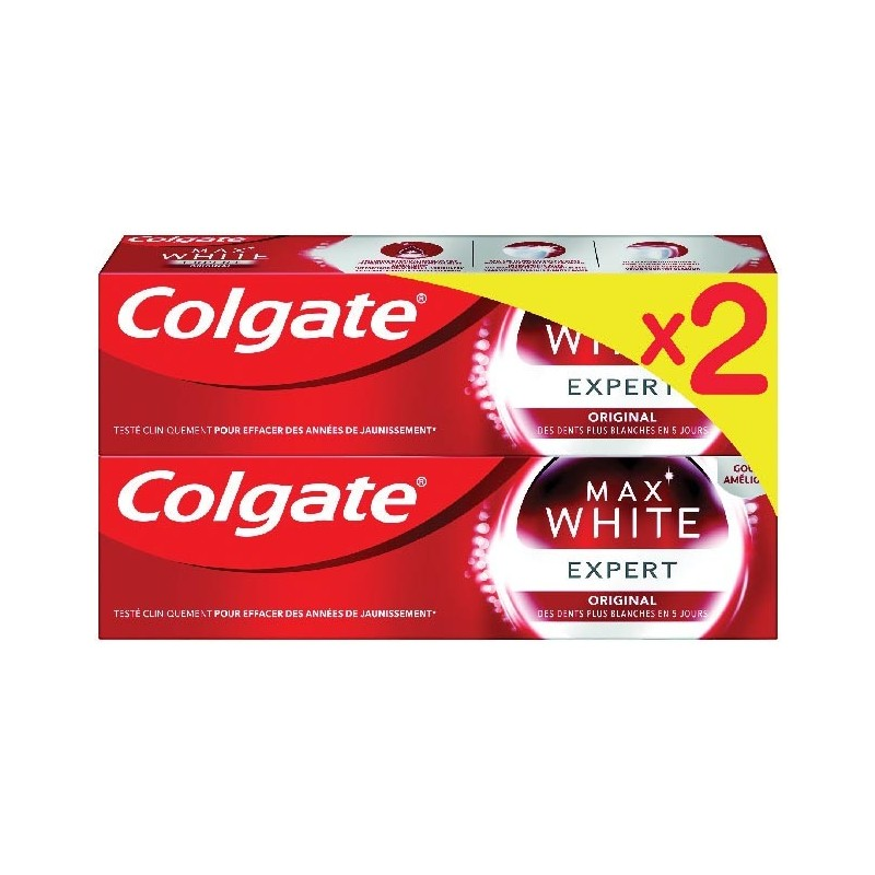 Colgate Max White Expert Duo