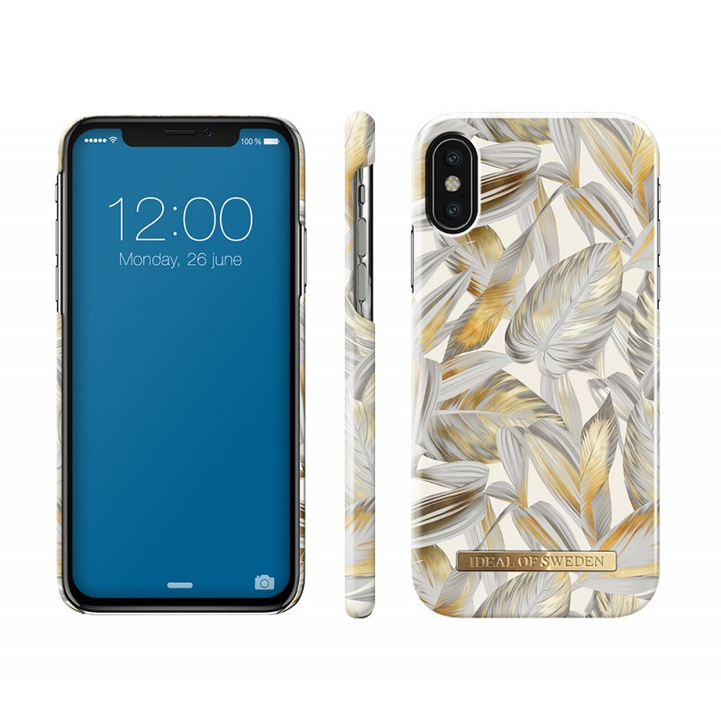iDeal Of Sweden Fashion Case iPhone X/XS Platinum Leaves