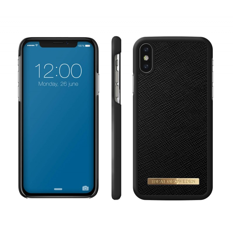 iDeal Of Sweden Saffiano Case iPhone X/XS Black