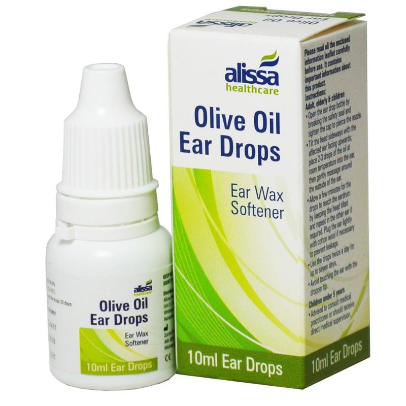 Alissa Healthcare Olive Oil Ear Drops