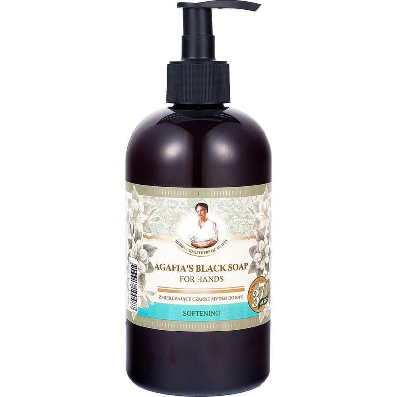 Babuszka Agafia Softening Black Hand Soap