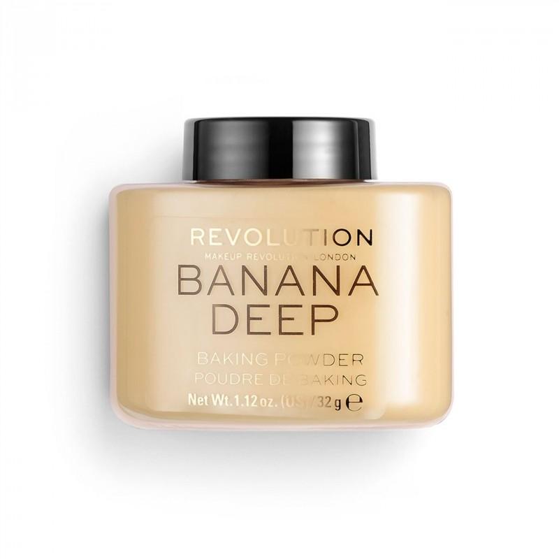 Revolution Makeup Luxury Baking Powder Banana Deep