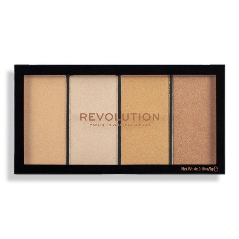 Revolution Makeup Reloaded Lustre Lights Warm Palette