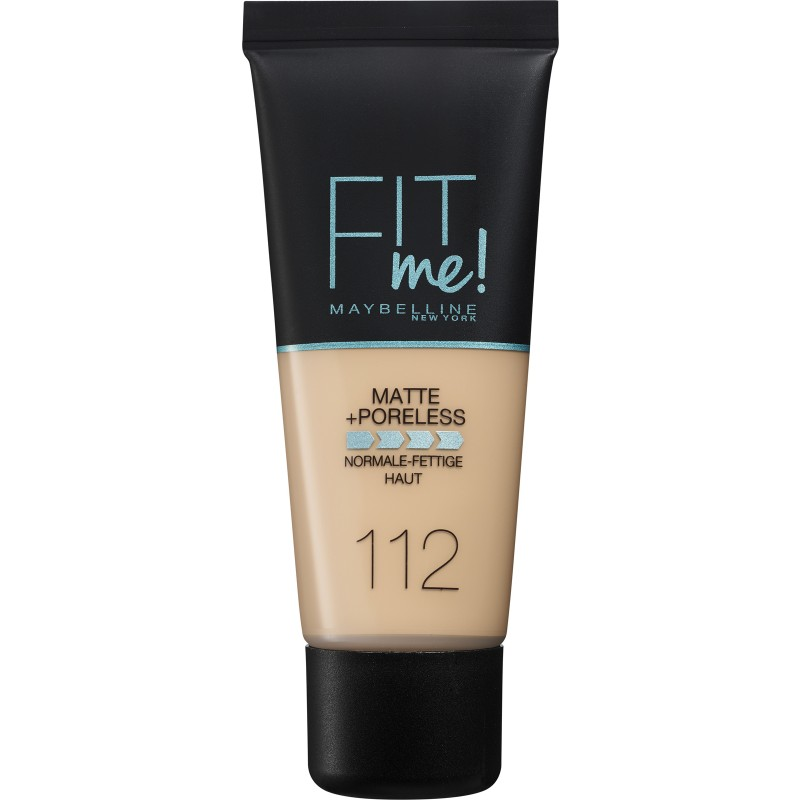 Maybelline Fit Me Matte & Poreless Foundation 112 Soft Beige