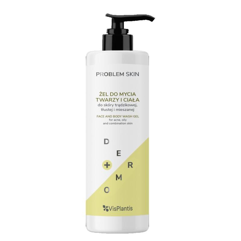 Vis Plantis Problem Skin Face & Body Wash Gel