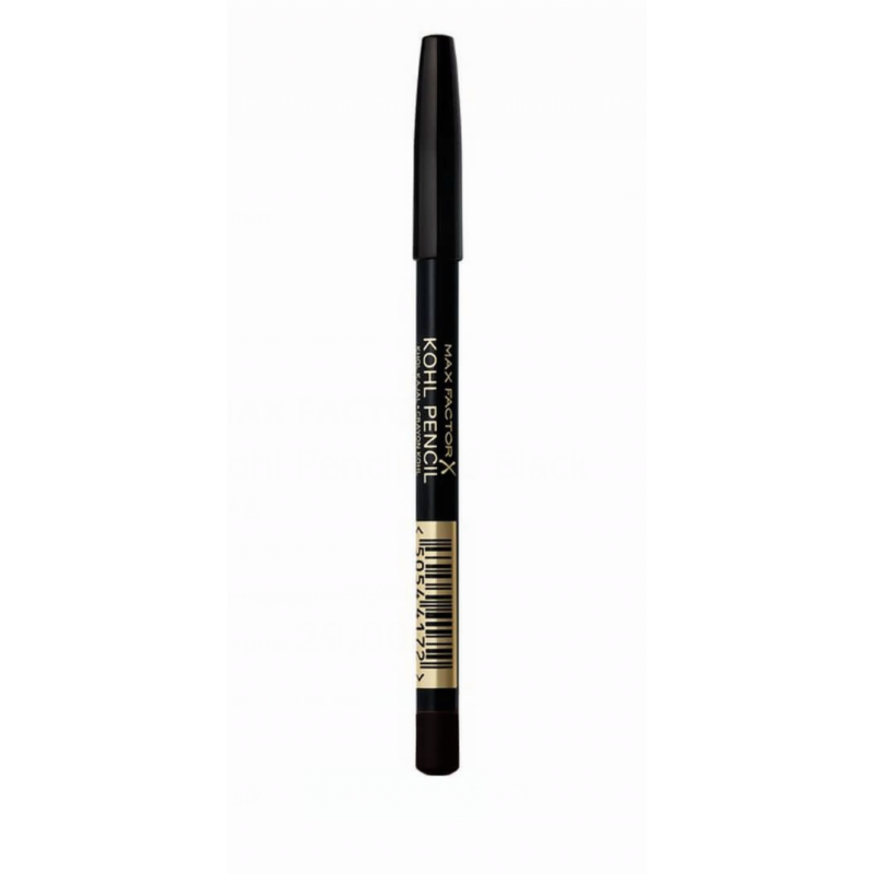 Max Factor Kohl Pencil 020 Black