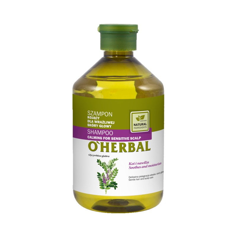 O'Herbal Calming For Sensitive Scalp Liquorice Extract Shampoo