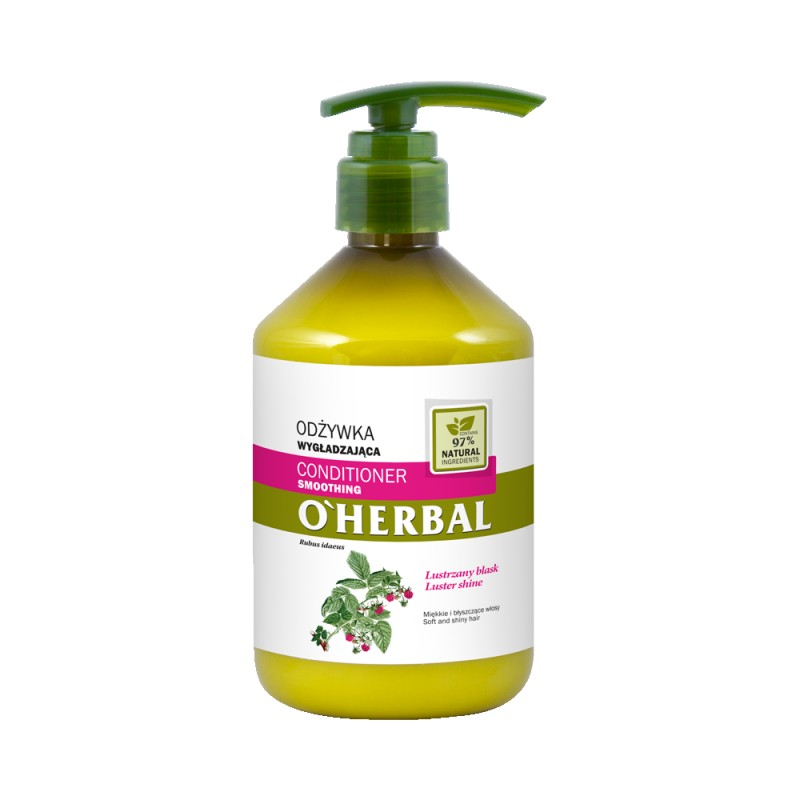 O'Herbal Smoothing Raspberry Extract Conditioner