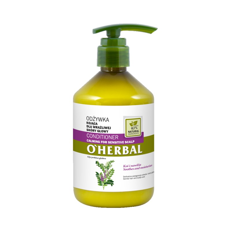 O'Herbal Calming For Sensitive Scalp Liquorice Extract Conditioner