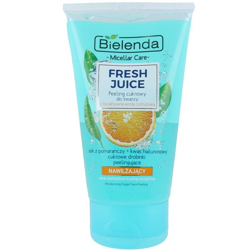 Bielenda Fresh Juice Moisturizing Face Sugar Scrub