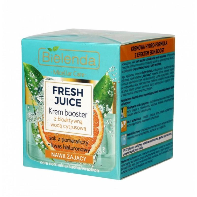 Bielenda Fresh Juice Moisturizing Face Cream