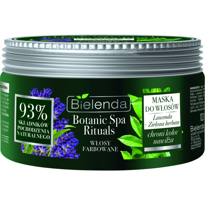 Bielenda Botanic Spa Lavender & Green Tea Mask Dyed Hair