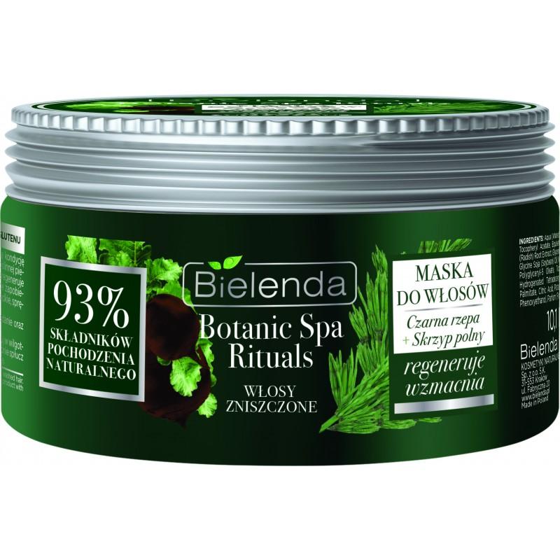 Bielenda Botanic Spa Black Turnip & Horsetail Mask Damaged Hair