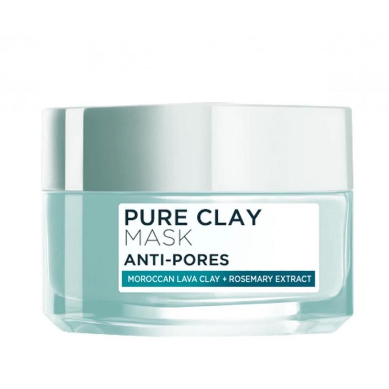 L'Oreal Pure Clay Anti-Pores Face Mask