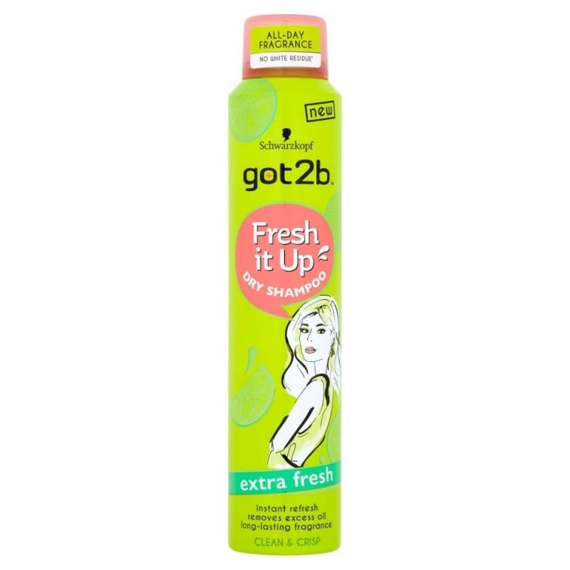 Schwarzkopf Got2b Fresh It Up Extra Fresh Dry Shampoo