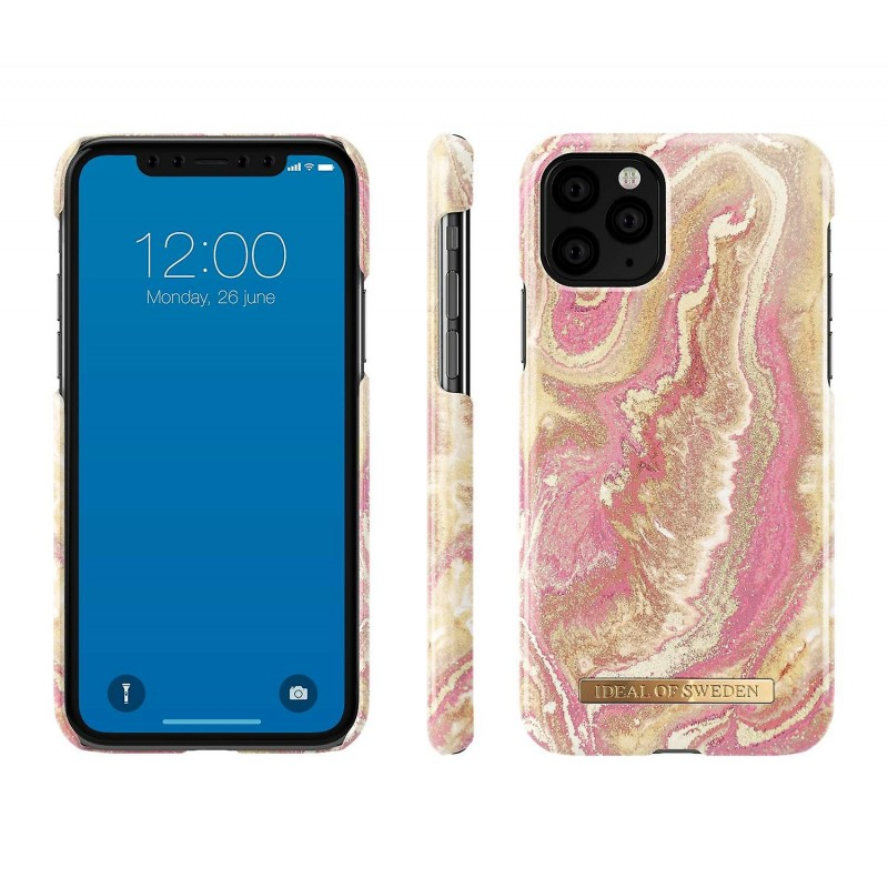 iDeal Of Sweden Fashion Case iPhone 11 Pro Golden Blush Marble