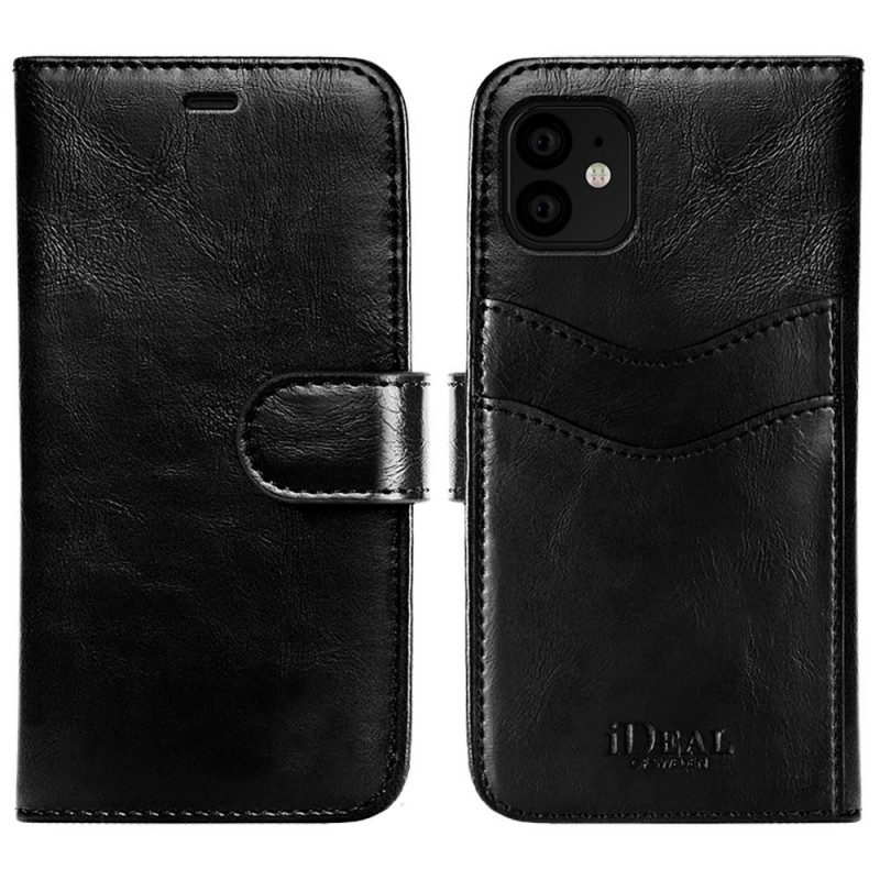 iDeal Of Sweden Magnet Wallet + iPhone 11 Black
