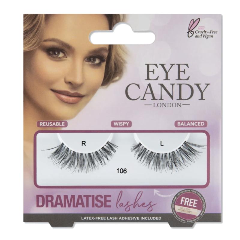 Eye Candy Dramatise False Lashes 106