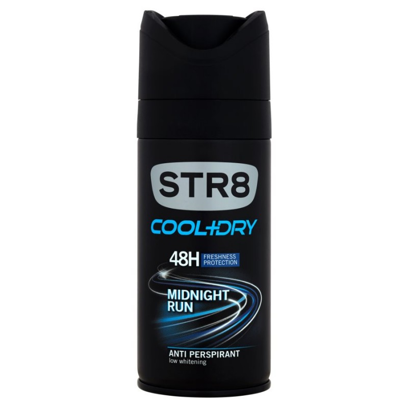 STR8 Cool & Dry Midnight Run Deospray