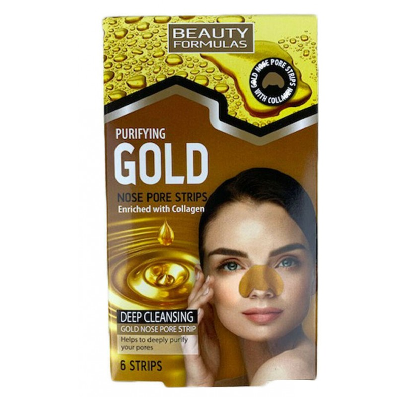 Beauty Formulas Purifying Gold Nose Pore Strips
