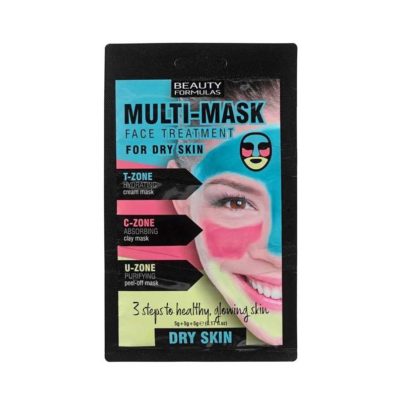 Beauty Formulas Multi-Mask Dry Skin