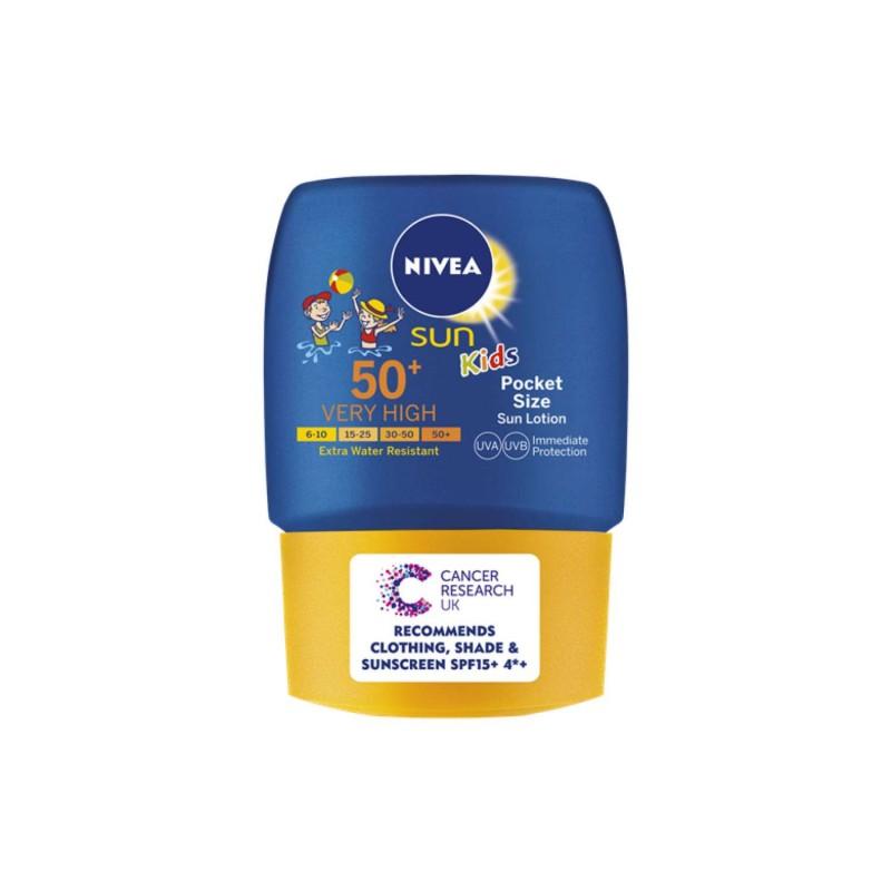 Nivea Sun Kids Pocket Size Sun Lotion SPF50