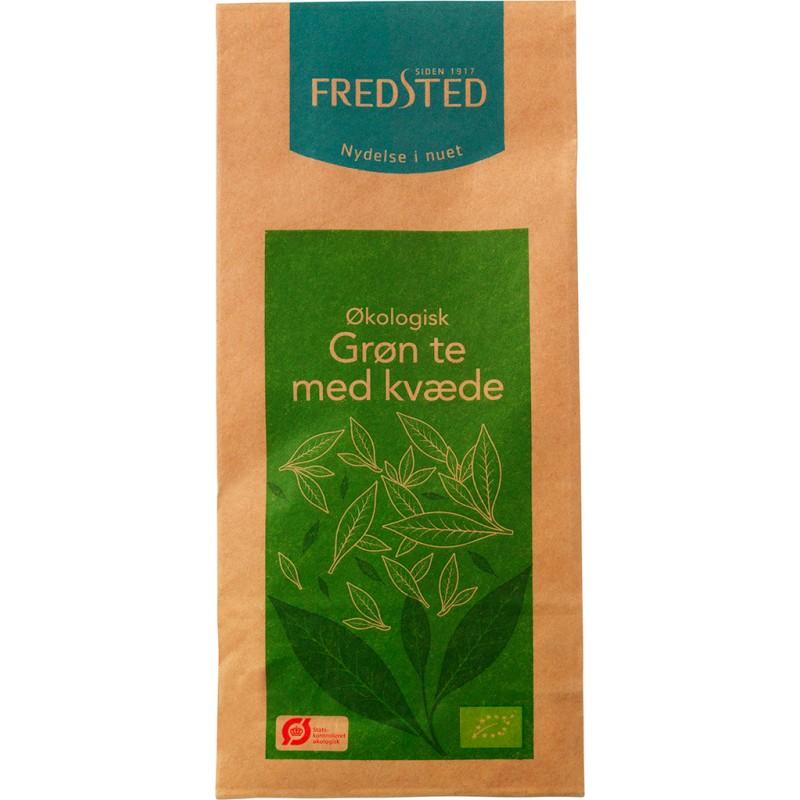 Fredsted Grøn Te Med Kvæde Øko