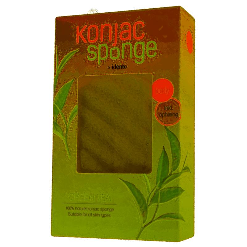 Konjac Sponge Body Wave Green Tea