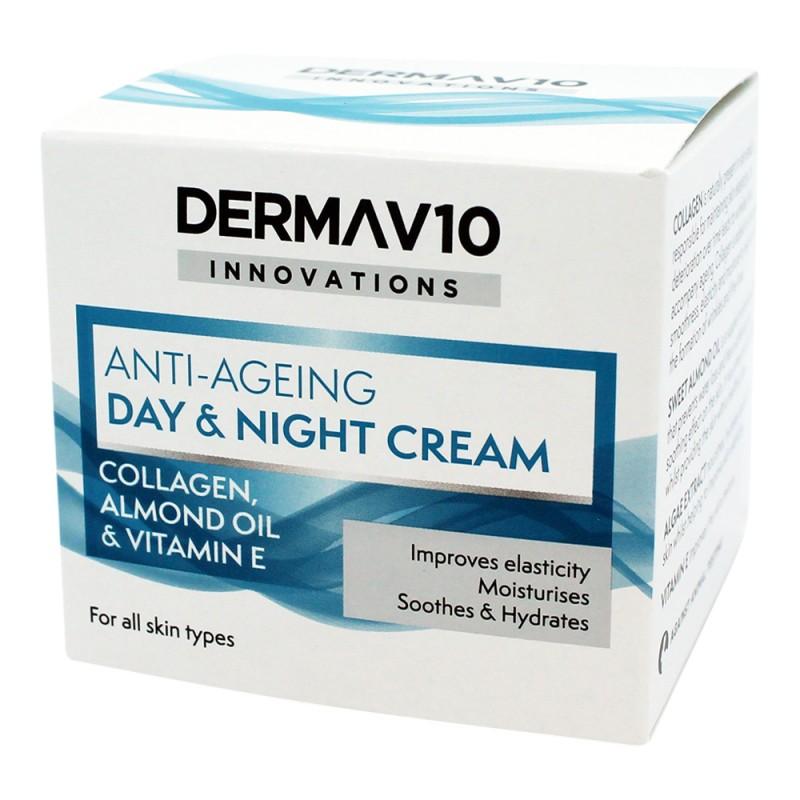 DermaV10 Anti-Ageing Day & Night Cream