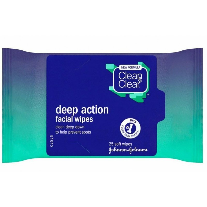 Clean & Clear Deep Action Facial Wipes