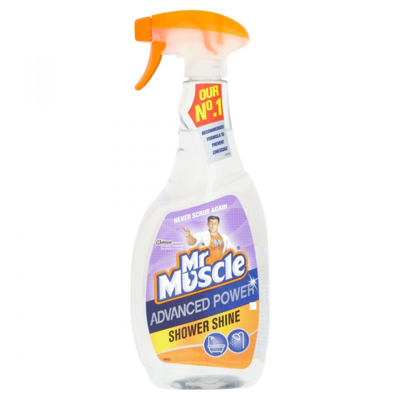 Mr. Muscle Advanced Power Shower Shine