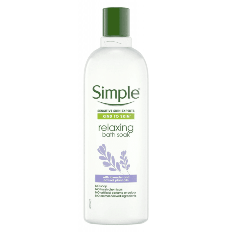 Simple Kind To Skin Relaxing Bath Soak
